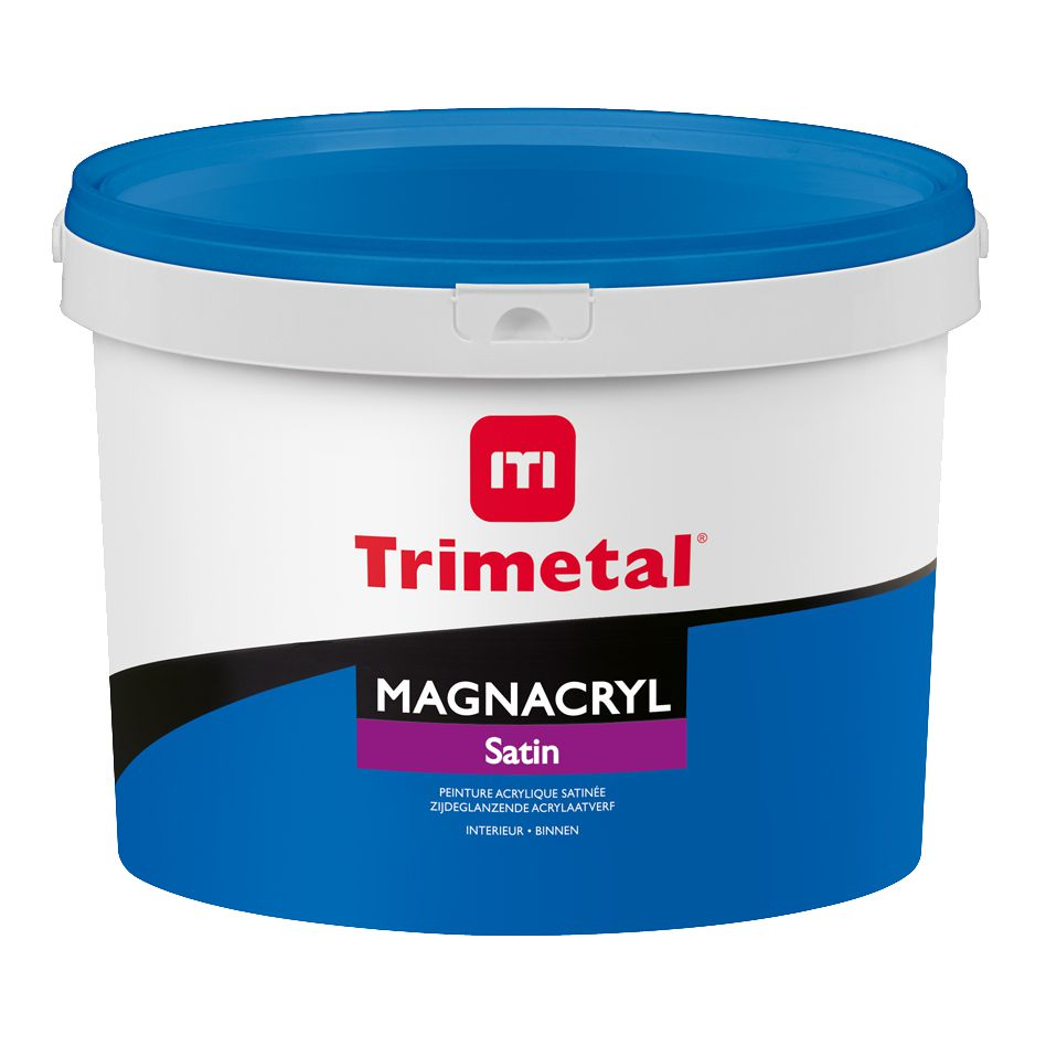 Peinture Acrylique Murale Intérieur Magnacryl Satin Blanc Pot De 5 L