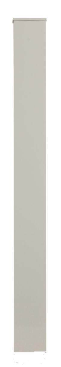 Pilier Aluminium Thermoplaqué Pour Portail Ou Portillon Section 15x15 Cm Les Exclusifs Gris 205 M