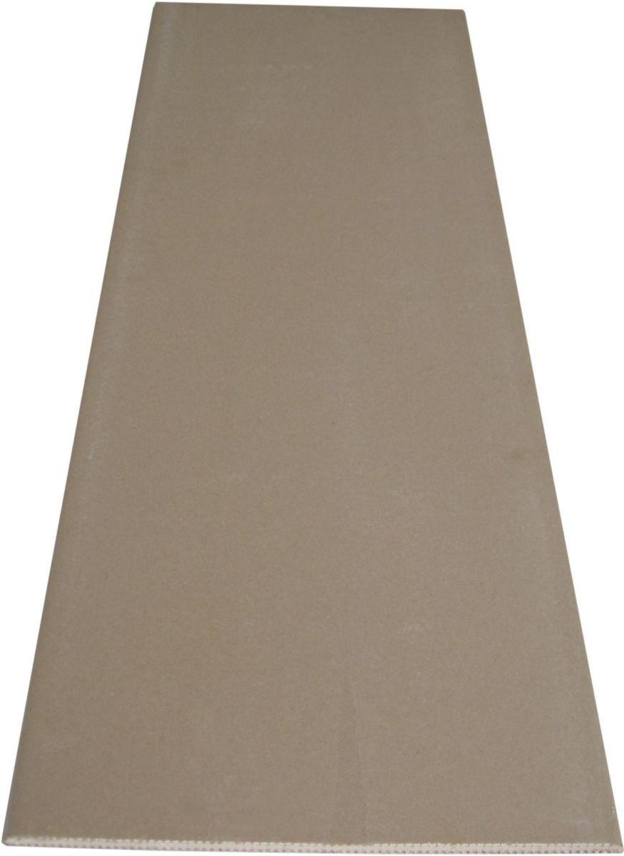 plaque de pl tre knauf perlplac 1 2x0 4 m paisseur. Black Bedroom Furniture Sets. Home Design Ideas